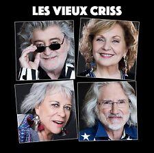 Les Vieux Criss avec France Castel, Louise Forestier CD BRAND NEW Musica Monette