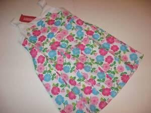 NWT Gymboree Tennis Match Pleated Floral Cotton Spring Dress Sz 4