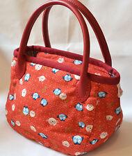 Qteen Handmade Cute Red Hoot Owl Owly Slouch Bag Hobo Purse Women Handbag Gift