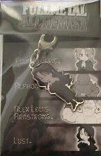 Fullmetal Alchemist Lust Fastener Anime Manga Mint
