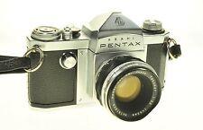 Asahi Pentax S Film Camera #170232 Camera Takumar 55mm F2.2 - Issues -
