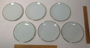 6 - NORITAKE - GEORGIAN  - 6¼ BREAD and BUTTER PLATEs - listing number one