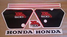 Autocollants / Stickers / Decals Honda XL500S - XLS 500