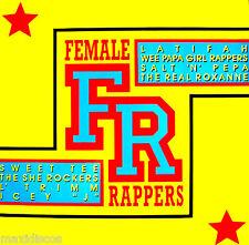 LPx2 - FEMALE RAPPERS (VARIOUS RAP) KILLER RAP COMPIL. GERMANY EDIT. 1989, MINT