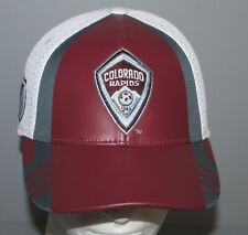 adidas Climalite Colorado Rapids MSL Authentic Team Flexfit Hat Adult L/XL
