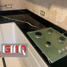 Calcutta Marquina Quartz Kitchen Worktops | Affordable prices | Sample