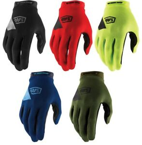 100% 2019 MX Ridecamp Gloves Mens All Sizes and Colors - Touchscreen