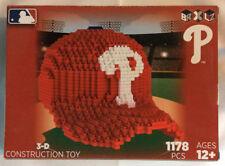 BRXLZ Team Hat 3-D Construction Toy Philadelphia Phillies 1178 Pieces
