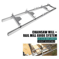 New Listing9ft Milling Rail System Chainsaw Mill Guide Set Ladder Rail Mill Guide System