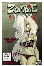 COFFIN Comics LADY DEATH MERCILESS ONSLAUGHT #1 SDCC 2018 NAUGHTY Edition NM