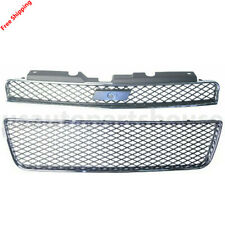 New For CHEVROLET IMPALA SS 2006-2010 Front Grille Fits GM1200551 GM1036107
