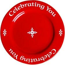 You are special-Celebrating You Red Plate,  Gift Wrapped & Gift Card