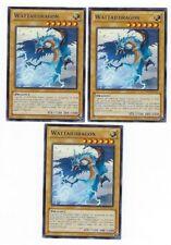 X3 YUGIOH WATTAILDRAGON YSKR-EN012 COMMON IN HAND