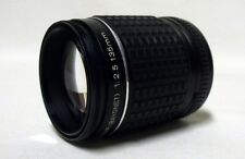 TAKUMAR f/2.5 135mm Prime Telephoto Lens SLR Film Camera DSLR P/K Mount w/Caps