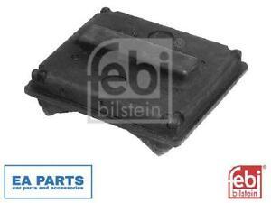 2x Rubber Buffer, suspension FEBI BILSTEIN 06228 fits Rear Axle