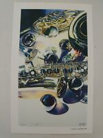 Limited Edition Watercolor Print by Paul C Jackson, Signed and Numbered 43/1000