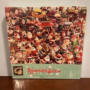 Springbok Hallmark Keepsake Santas Christmas Ornament Puzzle 500 Piece NEW