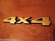 1984-1985-1986-1987-1991-1992-1993-1994-1995-1999 Jeep Cherokee 4X4 Emblem-Gold