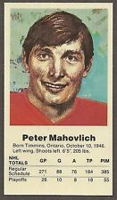 1972 Team Canada Peter Mahovlich Card