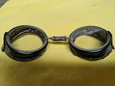 Antique safety goggles