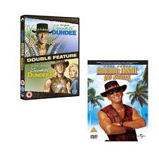 Crocodile Dundee 1, 2 & 3 In Los Angeles DVD Set Paul Hogan R2 New