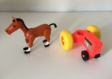 Fisher Price LITTLE PEOPLE Tractor And Horse