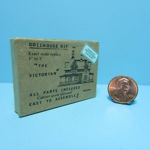 Dollhouse Miniature Detailed Replica Dollhouse Kit Box HR57007