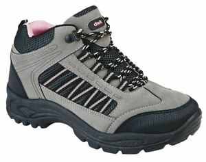 Ladies Womens Walking Hiking Trail Lace Up Hiker Casual Ankle Boots Shoes Size