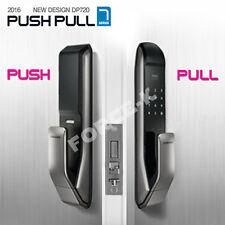 NEW 2016 SAMSUNG EZON Push-Pull SHS-DP720 Digital Door Lock Keyless RFID 2Way