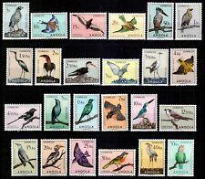 Angola 1951, TOP SET, Mi#339-362**, Sc#333-356**, birds, superb MNH, scarce!!!
