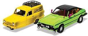 Corgi Del Boy's Reliant Regal and Ford Capri MkII Diecast Model
