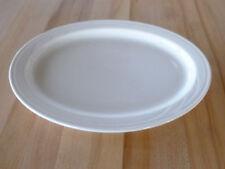 "Syracuse China Cascade/Turina 13-1/4"" Platter - White (950038423) (Dozen)"