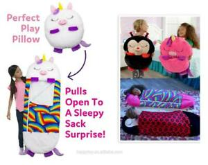 Happy Nappers Play Pillow and Sleep Sack Surprise 54 Tall x 20 Wide Ages 2-8