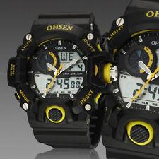 Ohsen G Sport Digital Military Water Proof Shock Analog Mens Wrist Watch Quartz