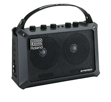 Roland Mobile Cube Battery-Powered Stereo Amplifier Beatboxing Live Perfromance