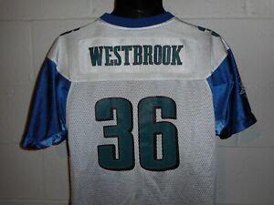 Reebok 2005 Super Bowl Brian Westbrook #36 Philadelphia Eagles Jersey Youth XL