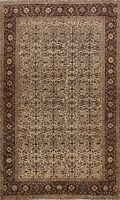 Vintage Floral Anatolian Turkish Oriental Area Rug Wool Hand-knotted 5x7 Carpet