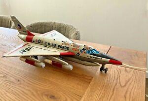 MARX TOYS - JAPAN - U.S. AIR FORCE - B-58 HUSTLER, TIN TOY, RARE - 50cm X 30cm