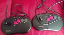 Arcade Stick Neo Geo AES CD SNK lot de deux.