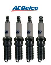 Set Of 4 Spark Plugs AcDelco For Saturn Ion Chevy Cobalt Colorado Isuzu i-290 L4