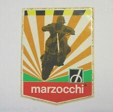 VECCHIO ADESIVO MOTO originale /Old Sticker MARZOCCHI MOTOCROSS TRIAL (cm 6 x 9)