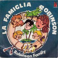 """Robinson Family Vinile 7"""" 45 giri La Famiglia Robinson - Fonia Nuovo"""
