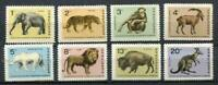37699) BULGARIA 1966 MNH** Sofia Zoo Animals 8v