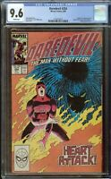 Daredevil Comic #254 (1988) CGC 9.6 White Pages  1st Appearance Typhoid Mary