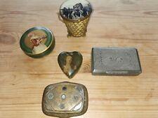 Sammlung Antike Schmuckdosen
