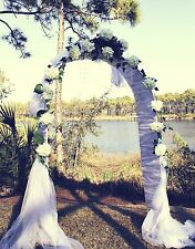 "Wedding Arch 90"" Metal Arch Wedding Party Decoration - Free Expedited Shipping"