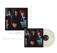 THE ROLLING STONES 12X5 VINILE LP CLEAR + LITOGRAFIA NUMERATA 120 NUOVO