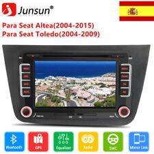 "2 Din 7"" Seat Radio De Coche Para Seat Altea 2004-2015 Toledo RDS DVD BT DAB GPS"