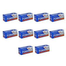 10 Rolls x FOMAPAN 200 Medium Format 120 Profi Line Creative B&W Film by FOMA