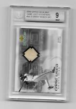 2000 Upper Deck MVP Game Used Souvenirs #BB-B Bat Card Barry Bonds BGS Mint 9